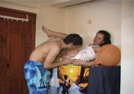 Flv gallery 32. Excited arab couple enjoying in their bedroom.